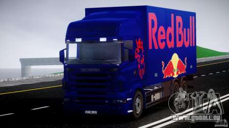 Scania R580 Tandem pour GTA 4 est un droit