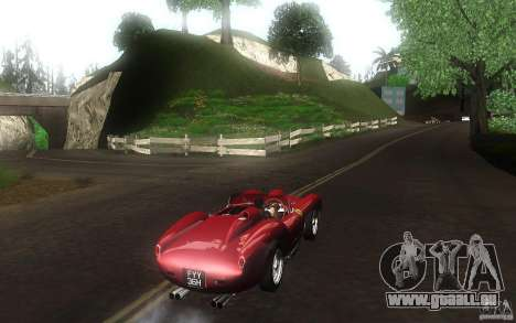 Ferrari 250 Testa Rossa pour GTA San Andreas vue de droite