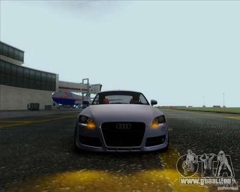 Audi TT für GTA San Andreas zurück linke Ansicht