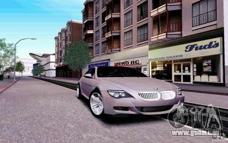 New Graphic by musha v4.0 pour GTA San Andreas troisième écran