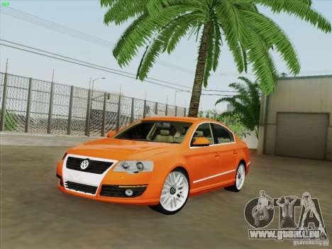 Volkswagen Magotan 2011 pour GTA San Andreas salon