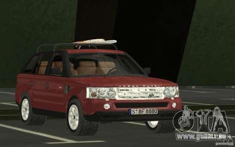 Land Rover Range Rover 2007 pour GTA San Andreas vue arrière