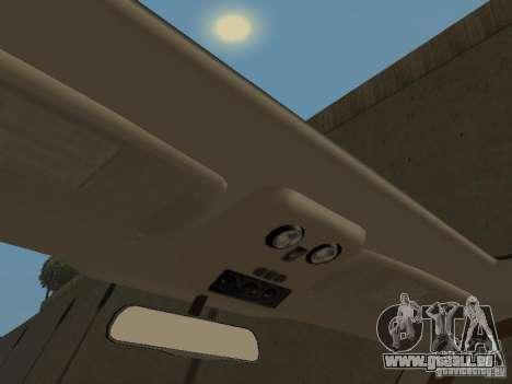 Chevrolet Suburban 2003 für GTA San Andreas Unteransicht