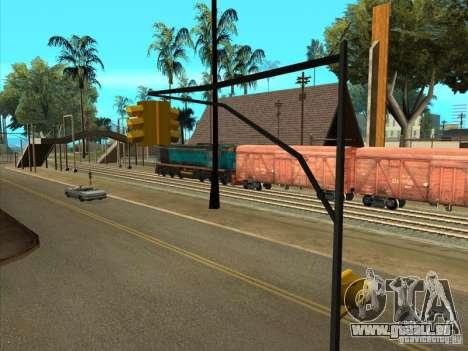 Tem2um-420 für GTA San Andreas Rückansicht