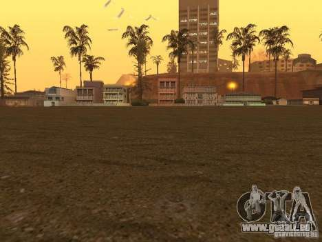 HD Santa Maria Beach pour GTA San Andreas troisième écran