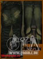Rap Jeans für GTA San Andreas