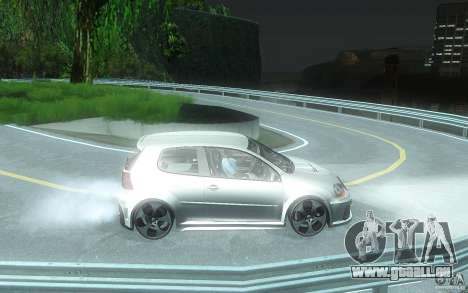 VolksWagen Golf GTI W12 TT Black Revel für GTA San Andreas Rückansicht