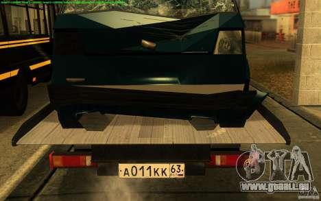 3302-Gazelle 14 Abschleppwagen für GTA San Andreas Rückansicht