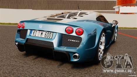 Noble M600 Bicolore 2010 für GTA 4 hinten links Ansicht