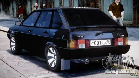 VAZ-21093i für GTA 4 Unteransicht