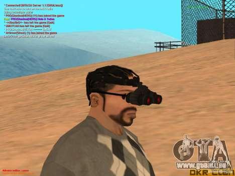 NV Goggles pour GTA San Andreas deuxième écran