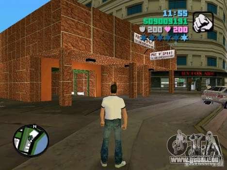 New Payn Spray pour GTA Vice City