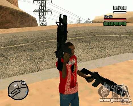 Black Ops Commando für GTA San Andreas