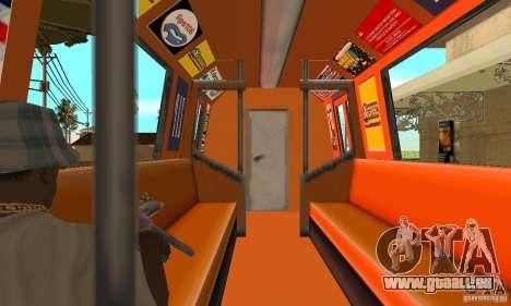 Liberty City Train CP pour GTA San Andreas vue de droite