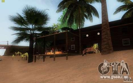 New Country Villa pour GTA San Andreas quatrième écran