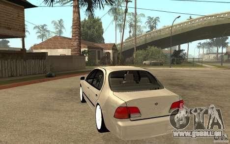 Nissan Maxima 1998 pour GTA San Andreas sur la vue arrière gauche