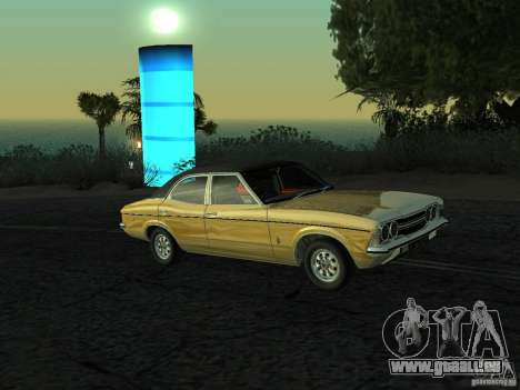Ford Cortina MK 3 Life On Mars pour GTA San Andreas