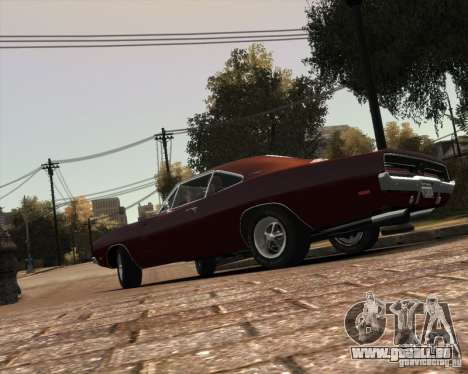 Dodge  Charger 1969 für GTA 4 Unteransicht