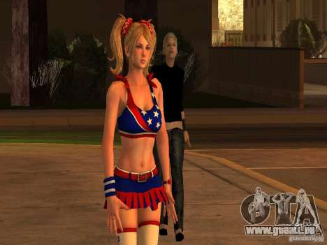 Juliet Starling pour GTA San Andreas