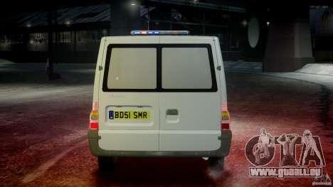 Ford Transit Polish Firetruck [ELS] pour GTA 4 est une vue de dessous