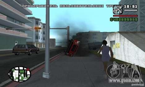 Verlegenheit Auto für GTA San Andreas dritten Screenshot