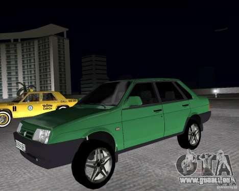 VAZ 21099 léger à l'écoute pour GTA Vice City