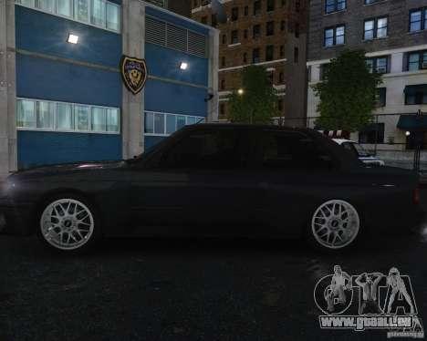 BMW M3 E30 pour GTA 4 vue de dessus