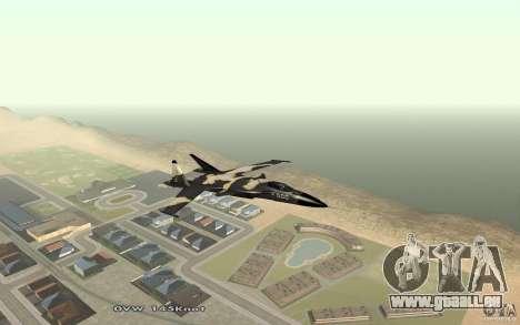 Su-32-Steinadler für GTA San Andreas linke Ansicht