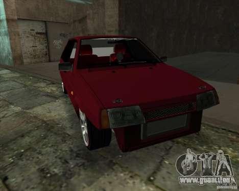 VAZ 2109 Drift für GTA San Andreas zurück linke Ansicht