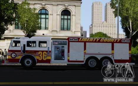 Pierce Heavy Rescue Pumper V1.4 pour GTA 4 est une gauche