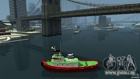 TUG Texture and Handling für GTA 4 linke Ansicht
