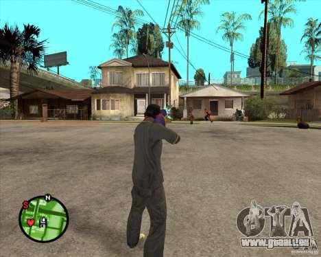Pistolet à eau pour GTA San Andreas deuxième écran