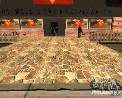 Neue Pizzeria in IdelWood für GTA San Andreas her Screenshot