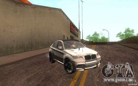 Bmw X6 M Lumma Tuning für GTA San Andreas linke Ansicht
