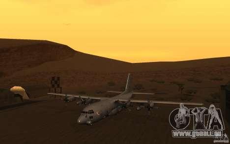 AC-130 Spectre für GTA San Andreas linke Ansicht