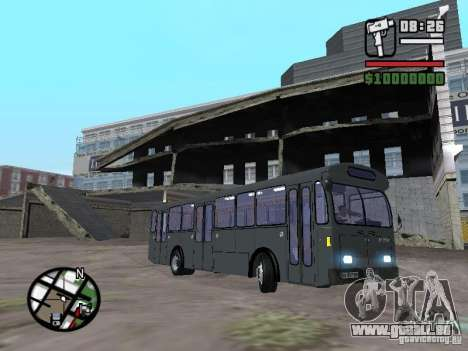FBW Hess 91U pour GTA San Andreas laissé vue
