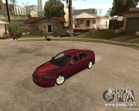 Mazda 6 Sport pour GTA San Andreas laissé vue