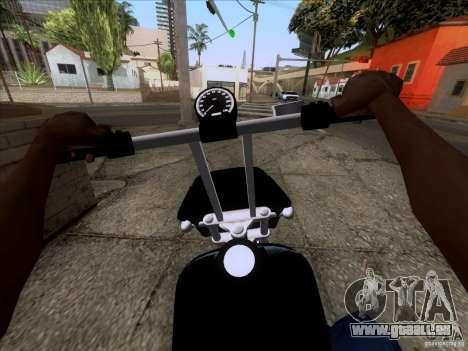 Harley Davidson FXD Super Glide pour GTA San Andreas vue de droite