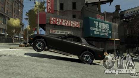 Mazda RX7 1995 Black [EPM] pour GTA 4 est un droit