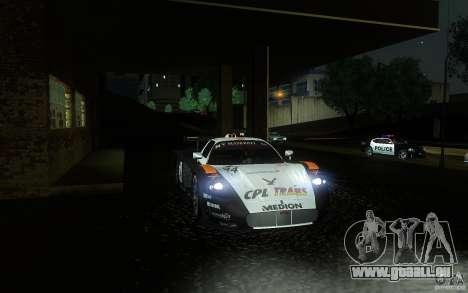 Maserati MC12 GT1 pour GTA San Andreas vue de dessus