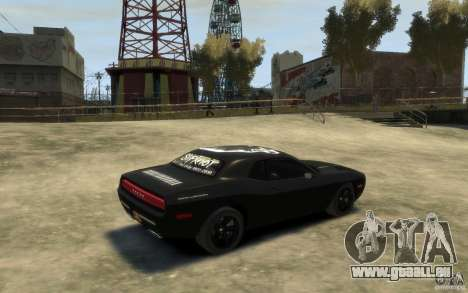 Dodge Challenger Concept Slipknot Edition für GTA 4 rechte Ansicht