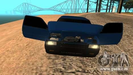 VAZ 1111 Oka pour GTA San Andreas vue de dessus