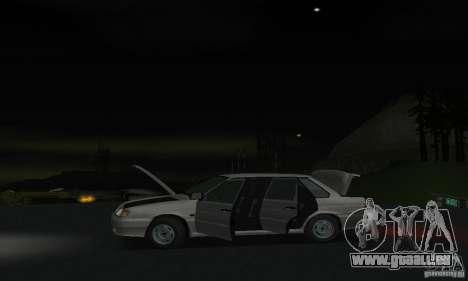 VAZ 2115 für GTA San Andreas Innenansicht