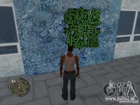 My Gang Tags pour GTA San Andreas cinquième écran