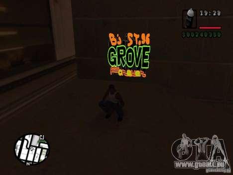 Nouveaux gangs de graffiti pour GTA San Andreas sixième écran
