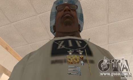 Eminem and 50 Cent double chain für GTA San Andreas zweiten Screenshot