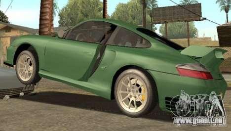 Porsche 911 GT2 pour GTA San Andreas vue de droite