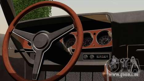 Plymouth Hemi Cuda 426 1971 für GTA San Andreas Seitenansicht