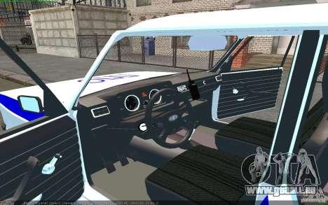 VAZ 2105 Jigouli PPP pour GTA San Andreas laissé vue