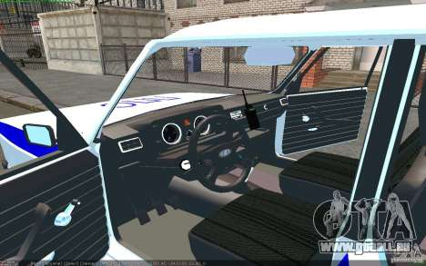 VAZ 2105 PPP Samara für GTA San Andreas linke Ansicht